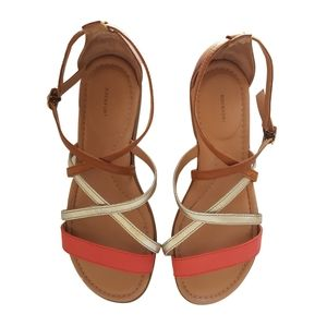 Rockport Tan Strappy Comfy Sandals Size 8